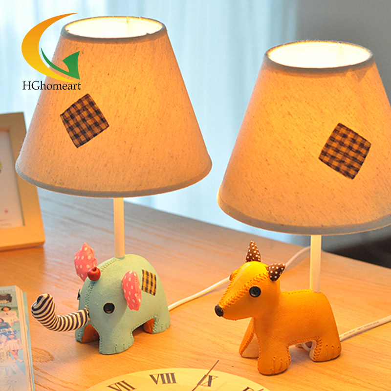 Bear animal cartoon creative fashion resin desk lamp in the living room reading table lamp(China (Mainland))