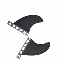 Future Base Carbon Fiber Thruster (2 fin set) GL FINS Surfing - Fly Fish Water Sports store