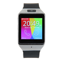 Capacitive Screen  Bluetooth Version: Bluetooth 3.0  Screen Size: 1.54inch   Bluetooth    black  Watch  with   camera