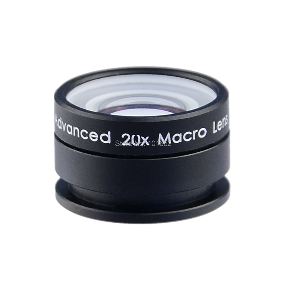 Universal Macro Photography Lenses 20X Super Macro Lens for iPhone Mobile Phone Camera Lens for Samsung Galaxy S3 S4 APL-20XM(China (Mainland))