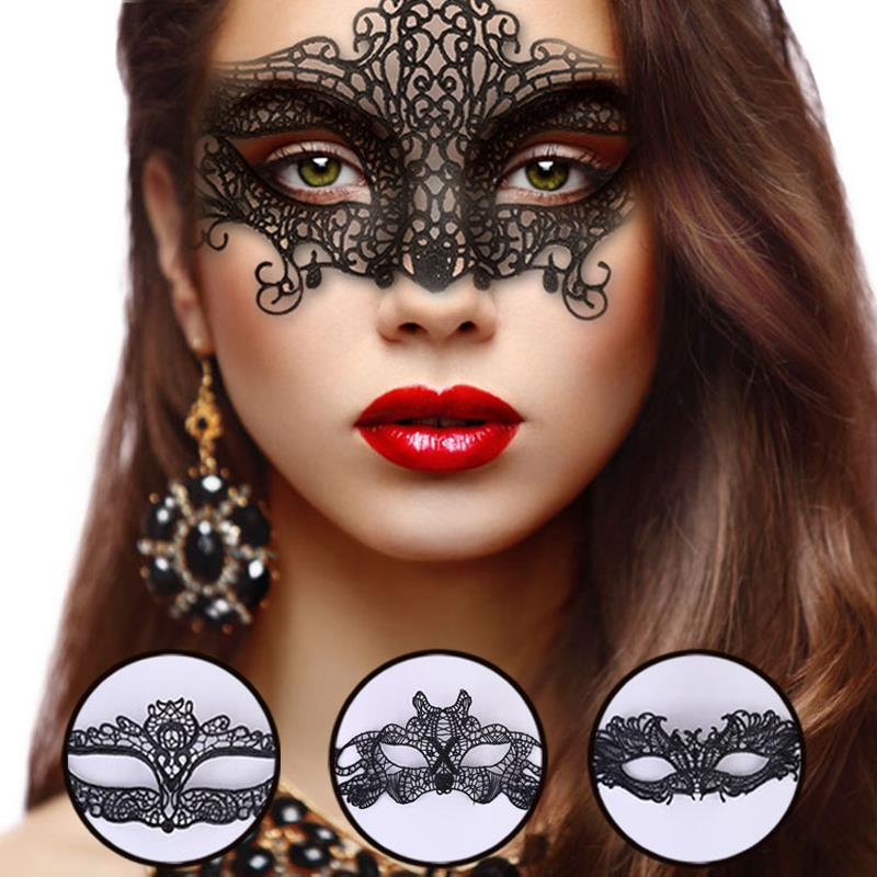 Selling embroidery Lace Mask black Sexy Ms Eye Mask Masquerade Dance performances Party mask anonymous for Handicraft(China (Mainland))