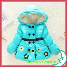 hot sale 1pcs retail Girl spring autumn winter outerwear children clothing girl jackets coat girl s