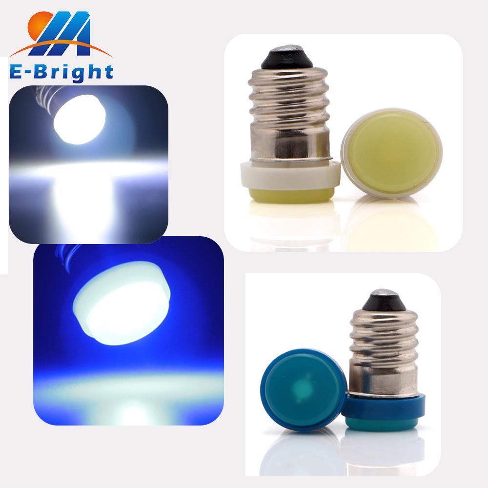 YM E-Bright 20-200-1000Pcs E10 1 SMD F10 1 LED LED Light Bulb 40LM Clearance Lights Screw Base Led Bulb Lamp Light Multi-Colour