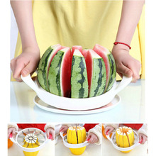 2016 New Watermelon Slicer Melon Cutter Fruit Cutting Fruit Cutter Kitchen Tools Gadgets Kitchen Accessories Watermelon Knife