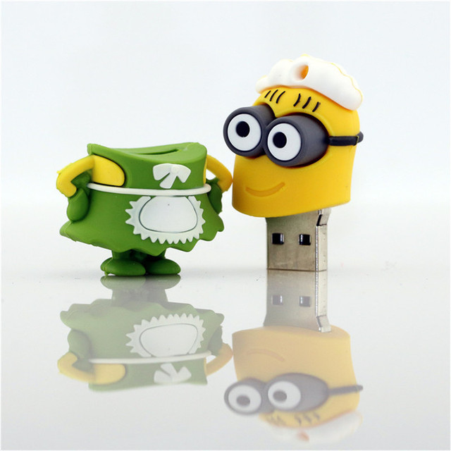Minions Despicable Me Figure Pen Drive 16GB 32GB 64GB USB 3.0