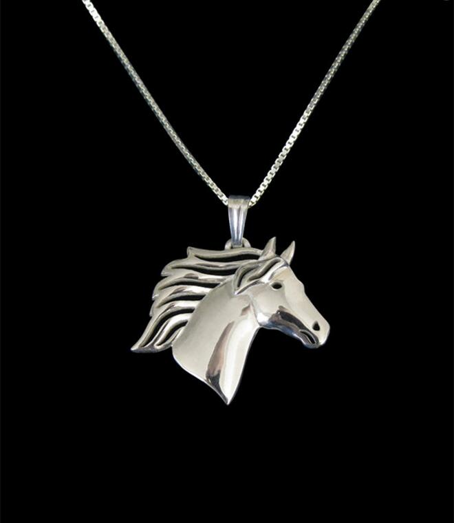 Unique Handmade Boho Chic Horse  Necklace Female and Male Gift Jewelry Necklace--12pcs/Lot(6 Colors Free Choice)<br><br>Aliexpress