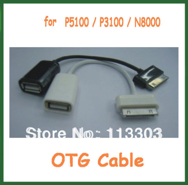 50pcs 30-Pin to Female USB Host OTG Cable Adapter for Samsung Galaxy Tab Like P5100, P3100 and N8000 Free Shipping<br><br>Aliexpress