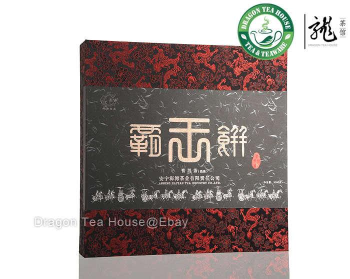 Гаджет  Ba Wang Beeng * Haiwan Giant Puer Cake 2012 Ripe 100g 3.5 oz loose sample None Еда