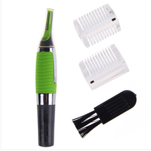 2015 Personal LED Light Nose Ear Face Hair Trimmer Shaver Clipper New Facial Cleaner Home Health Care For Men A3116 YaRQ(China (Mainland))