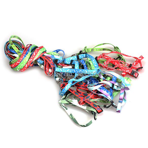 Nylon Large Big Small Pet Dog Puppy Cat Animals Supplies Accessories Products Leash Harness Necklace Rope Tie Collar Lead(China (Mainland))