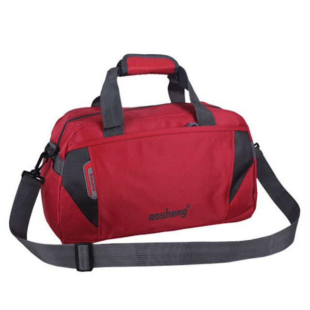 2015 водонепроницаемый полиэстер спортивная сумка мода спортивную сумку для женщин ...
