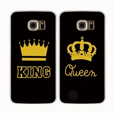Buy King Queen YOUR MINE couple cell phone case cover Samsung Galaxy A3 A310 A5 A510 A7 A8 A9 2016 2017 J1 J2 J3 J5 J7 MINI ACE for $1.49 in AliExpress store