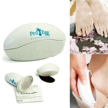 Home Use Pedicure Ped Pod Egg File Foot Feet Smooth Care Dry Hard Skin Remover(China (Mainland))