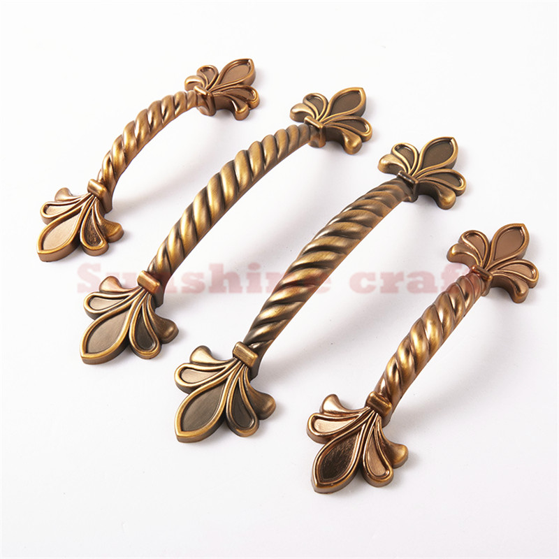 6pcs cabinet hardware china dresser drawer handles kitchen for Country style kitchen handles
