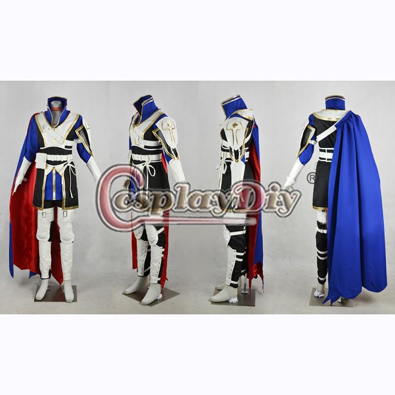 Fire Emblem Roy Cosplay Costume Binding Blade Adult Men Halloween Outfit Custom Made D0619Одежда и ак�е��уары<br><br><br>Aliexpress