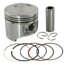 Motorcycle Engine parts +25 Cylinder Bore Size 49.25mm pistons & rings Kit For Yamaha XV250 XV 250 XC125 XC 125 piston & ring