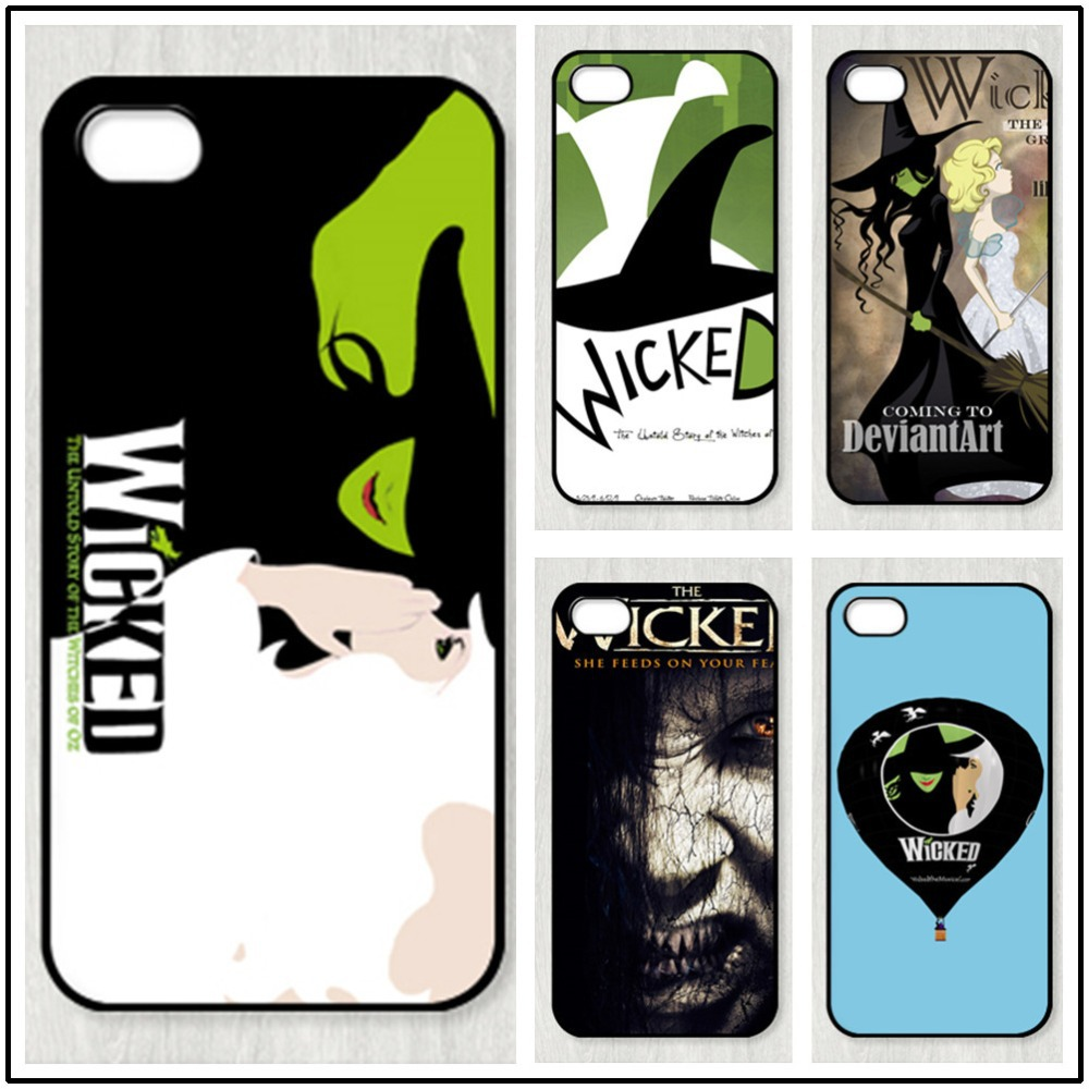 The Wicked The Wizard of Oz Floral Retro Watch fashion original cell phone case for iphone