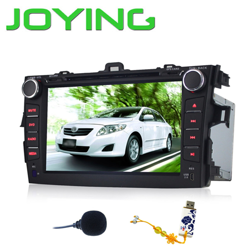 joying quad core 1024 600 2 din android 4 4 toyota corolla. Black Bedroom Furniture Sets. Home Design Ideas