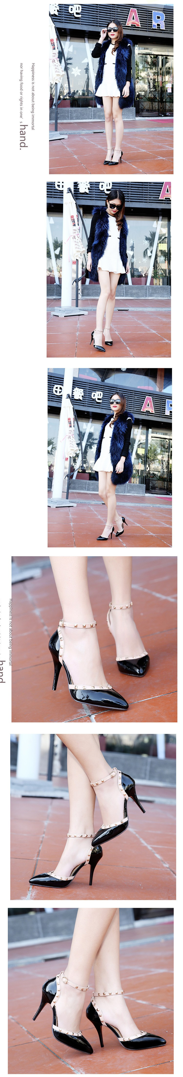 New Design Chaussure Femme Zapatos Mujer Shoes Woman Pumps High Heels Ladies Shoes Summer Shoes Pink Black Beige ZX2.5