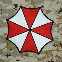 Biohazard Resident Evil Umbrella Corporation Logo small Back Of The Body Patch B3491 15cm*15cm iron on sewing on(China (Mainland))