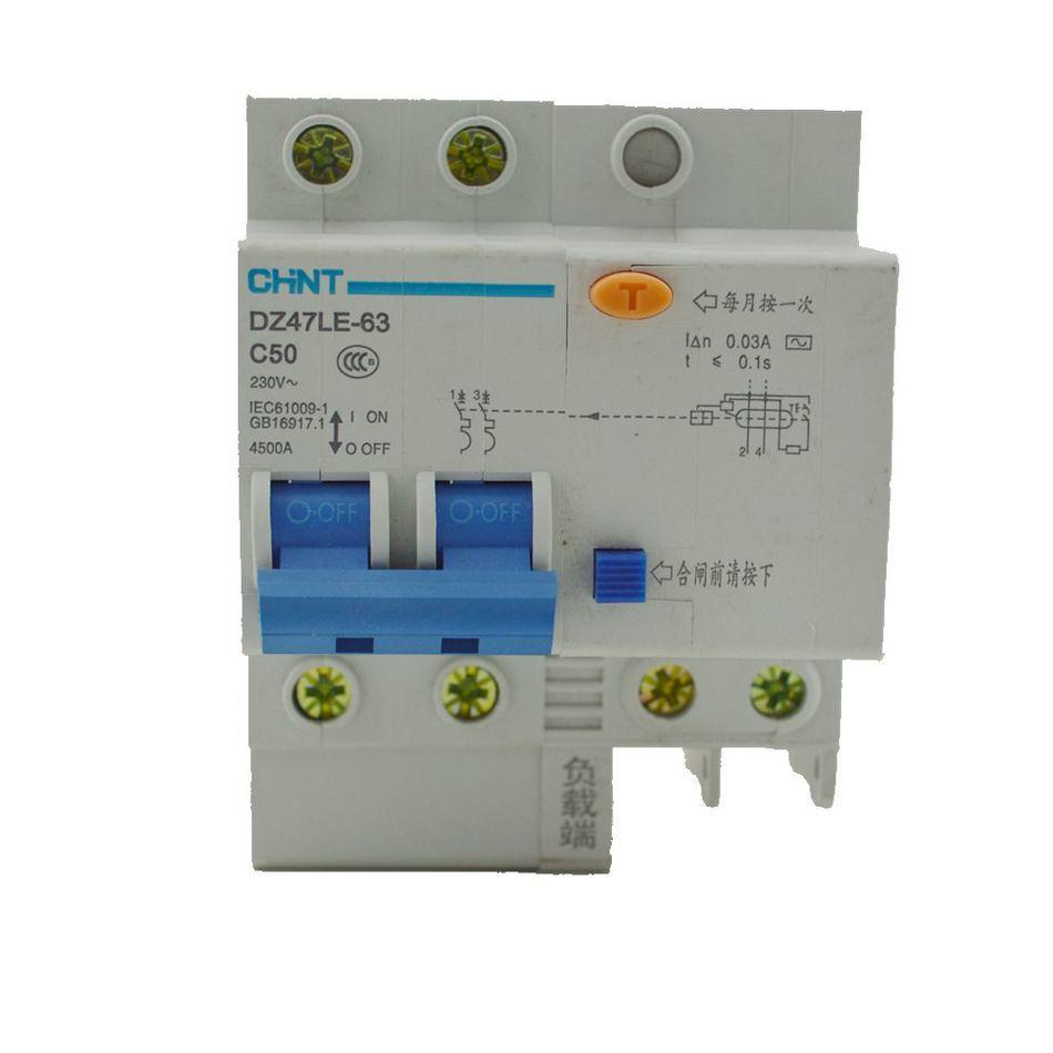 Original New 100 Chint Air Switch Gfci 2p40a Home Empty Open Spm Circuit Breaker 3p 25amp 6ka Rating 3 Pole 25 Amp Dz47le 63 Residual Dz267le 32 1p N Dz158le Redidual