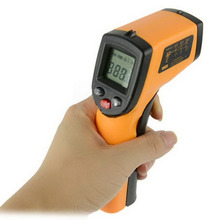 1pcs Non-Contact LCD IR Laser Infrared Digital Temperature Thermometer Gun Wholesale(China (Mainland))