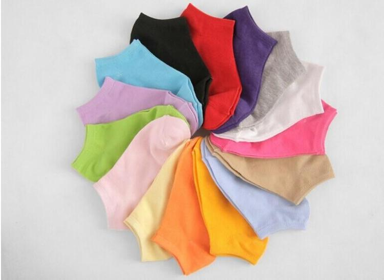Free Shipping 10 Pairs=20pcs/lot Women Socks,Fluorescence Cotton Sock,Candy Color Fashion Ankle Boat Short Socks,Many Colors(China (Mainland))