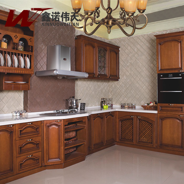 Fashion-classical-corner-overall-kitchen-cabinet-customize