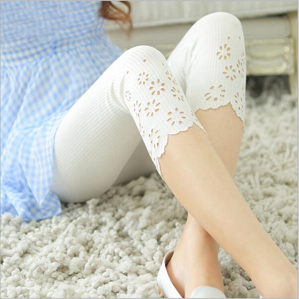 2016 новый бренд мода девушки капри женские брюки девушки брюки хлопок узкие выдалбливают ...