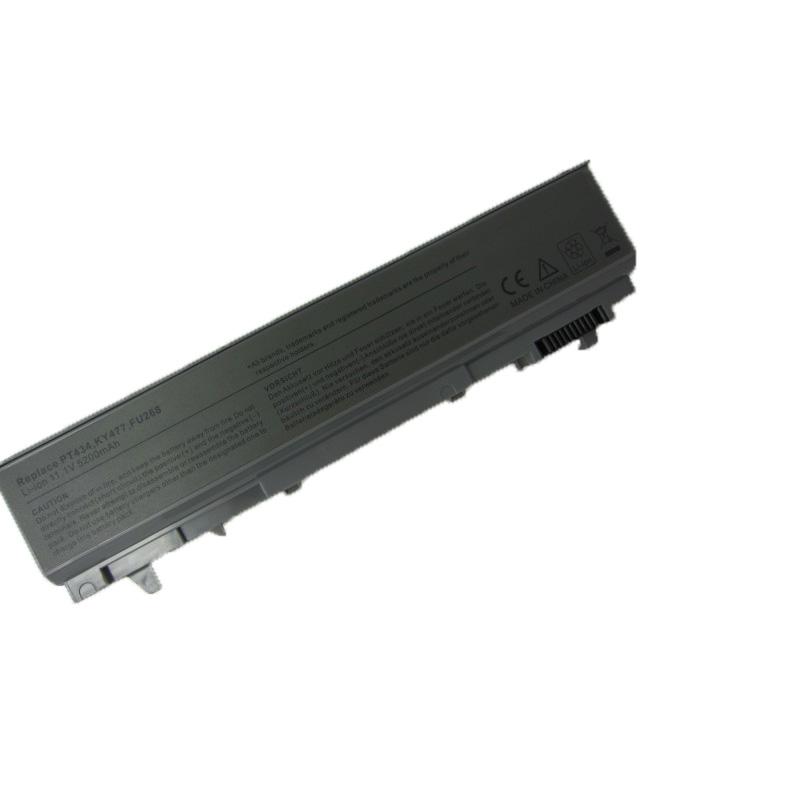 5200mAh Laptop Battery For dell Latitude E6400 M2400 E6410 E6510 E6500 M4400 M4500 M6400 M6500 1M215 312-0215 312-0748 312-0749(China (Mainland))