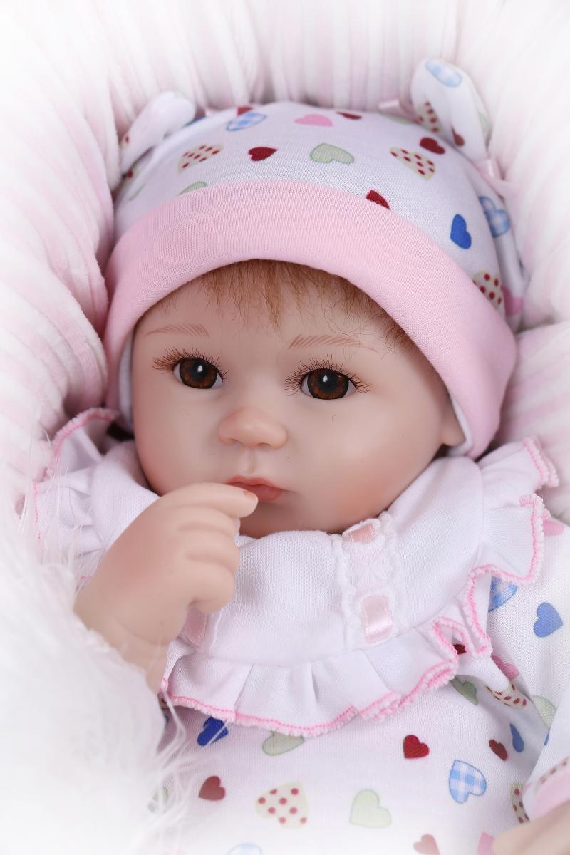 Фотография Hot Sale NPK Real Silicon Baby Dolls About 18inch Lovely Doll reborn For Baby Gift Bonecal Bebe Reborn Brinquedos Bonecas