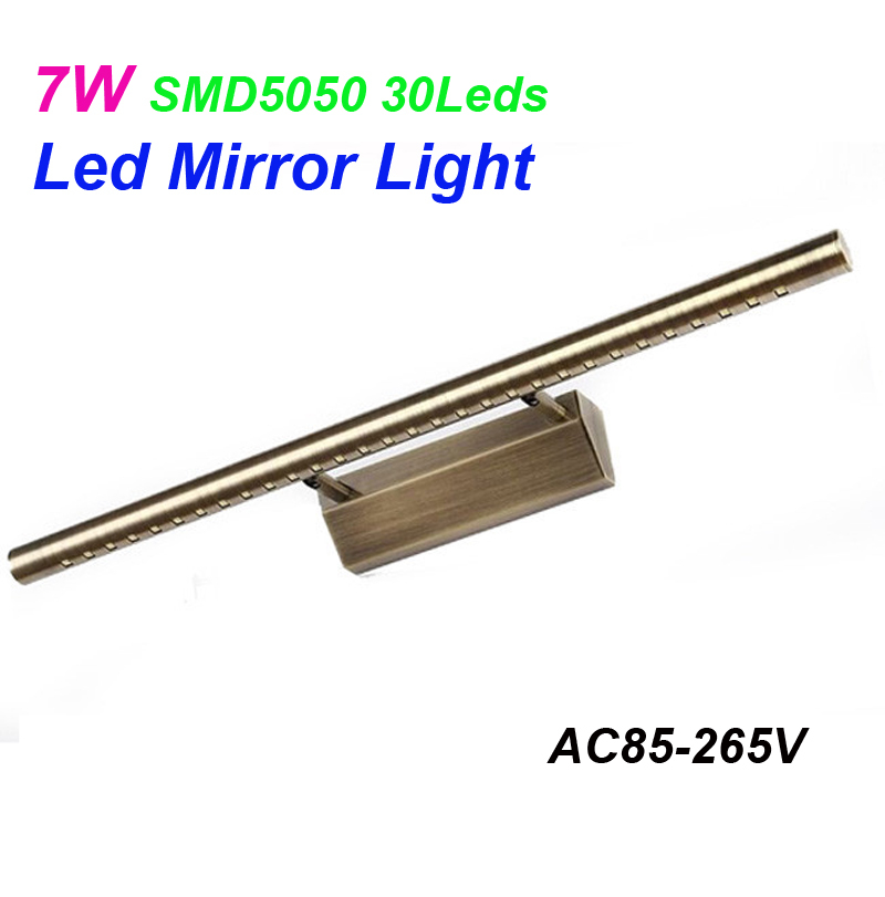 7W 55cm modern led mirror light AC85-265V SMD5050 Sungxing chip led bathroom lamp wall mounted  indoor light<br><br>Aliexpress