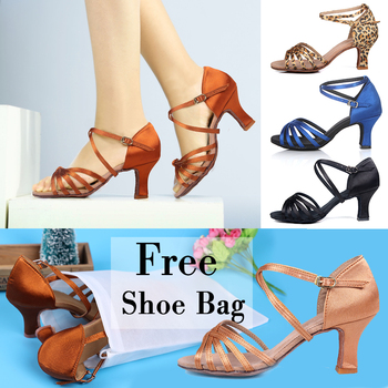 Great Discounts&Coupons!!/Promotion Price!/Popuplar High Quality Latin Dance Shoes for Women/Ladies/Girls/Tango&Salsa