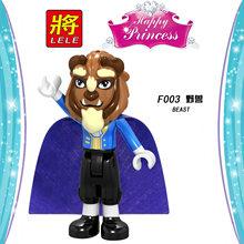 Legoing Friends для девочек принцесса Эльза строительные блоки куклы игрушки для детей фигурка Золушка, Русалка кирпичи LegoingsGifts(China)