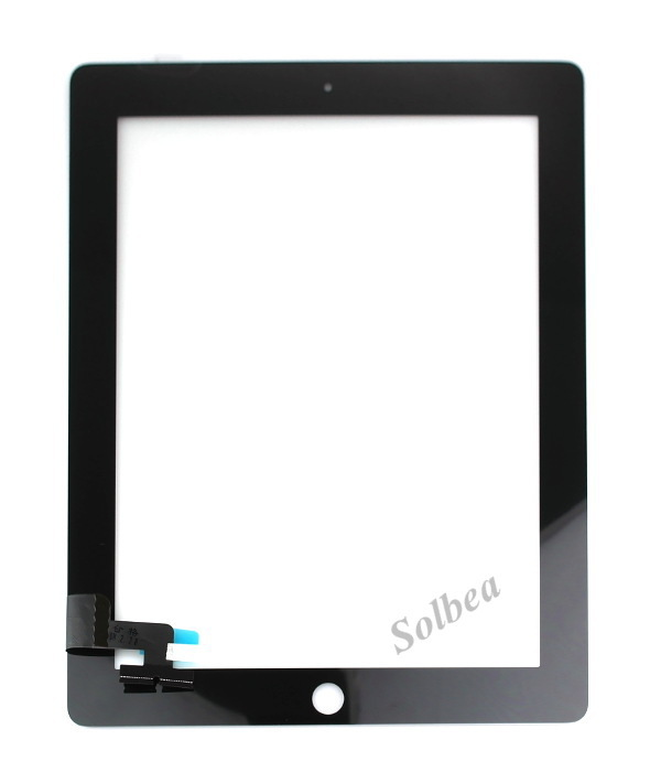 1PC High Quality Touch panel screen for iPad 2 Digitizer Replacement White&amp;Black freeshipping+track<br><br>Aliexpress