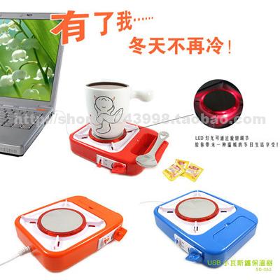 Usb small gas stove incubator black christmas new year gift(China (Mainland))