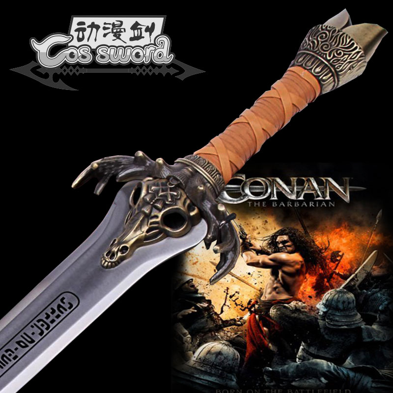 Здесь можно купить  Conan the Barbarian King Father sword Excalibur sword  1:1 Stainless Steel Made Collector