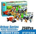Bela 10419 Urban City Police Commandos Minifigures Building Block Minifigure Toys Compatible Legoe