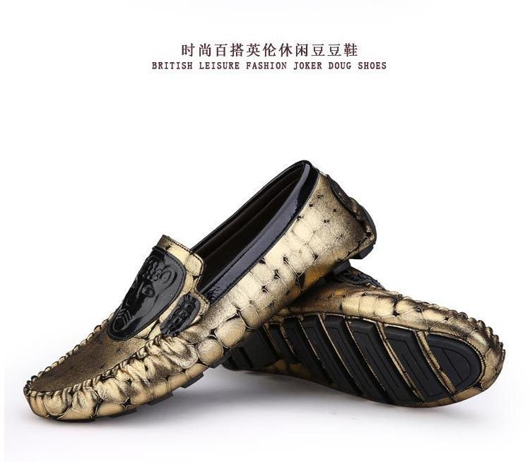 patent leather boat shoes men