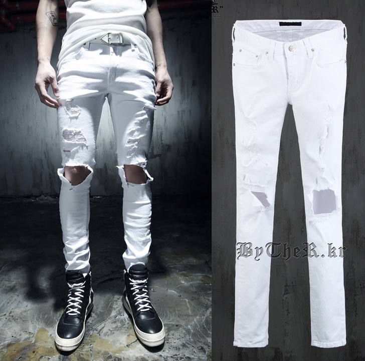 Where To Buy White Jeans For Men - Xtellar Jeans