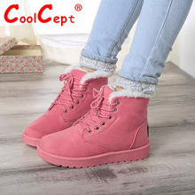 Size 35-40 Women Cross Strap Plush Flat Ankle Boots Half Short Boot Autumn Winter Warm Footwear Leisure Quality Vintage Shoes(China (Mainland))