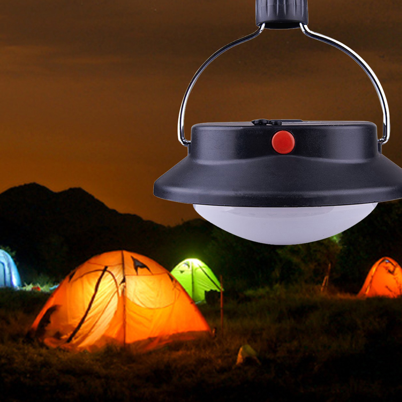 Portable 60 LED Camping Lamp Outdoor Light Tent Umbrella Battery Operated Night Lamp With 3 Lighting Modes(China (Mainland))