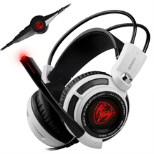 Somic G941 Pro Gaming Headphones Earphone 7.1 Virtual Surround Sound USB Gaming Headset with Vibrating Mic Voice For PC Gamer