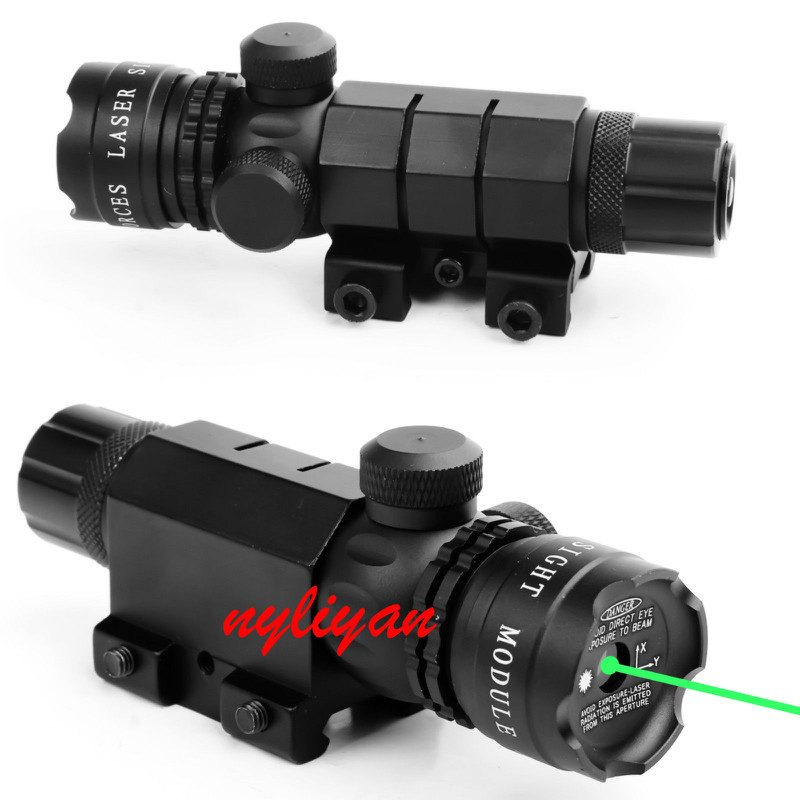 Green Dot Laser Sights for Guns Tactical Green Laser Sight Remote Switch with Saddle Mount For Rifle Hunting(China (Mainland))