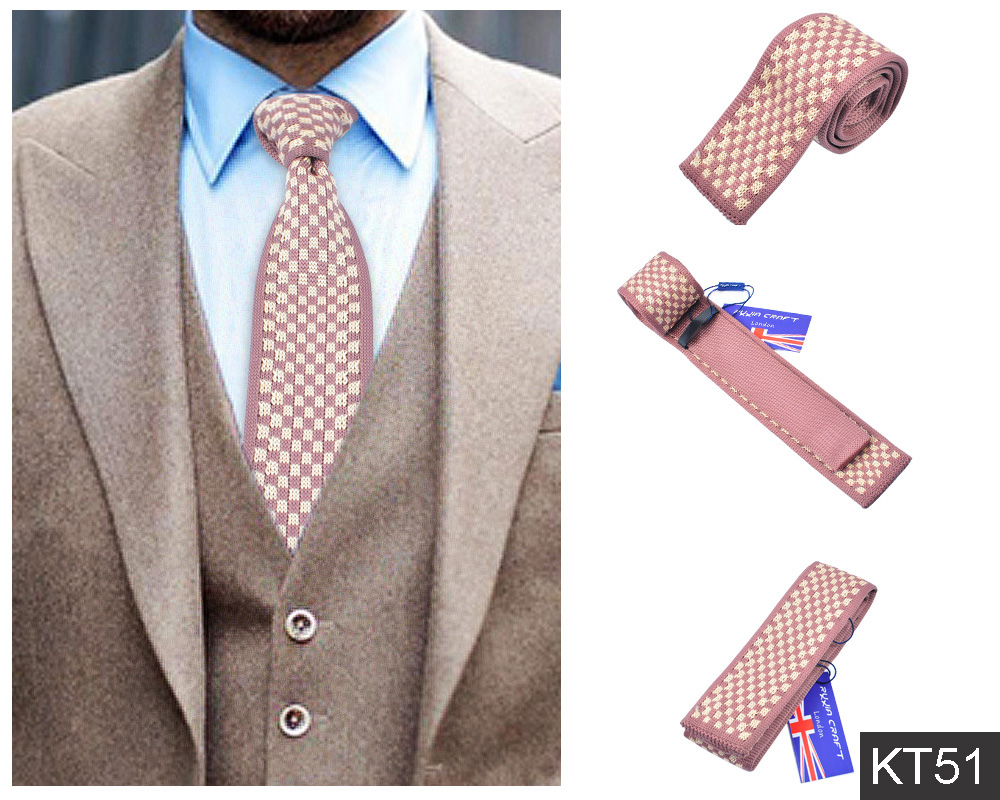 2016 Fashion Style Knit Geometric Skinny Necktie For Mens Accessories 15 Colors(China (Mainland))