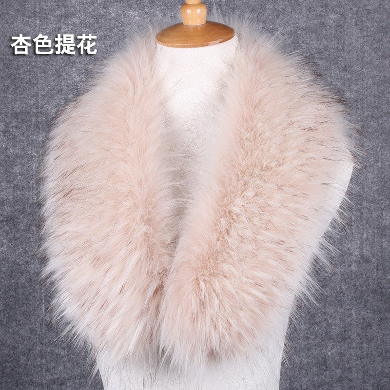 2016 Amazing Winter Faux fox fur collar scarf shawl collar women's Wrap Stole Scarves