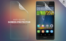 NILLKIN Screen Protector Lot Matte OR Super Clear HD Anti-fingerprint Protective Film For huawei p8/huawei p8 lite+ retailed PKG