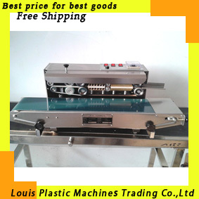 Free shipping Automatic film impulse sealer, Heat plastic bag Sealer, impulse sealing machine, suitable for heat shrink packing(China (Mainland))