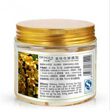 80 pcs/ bottle Gold Osmanthus eye mask women Collagen gel whey protein face care sleep patches health GZJ02089