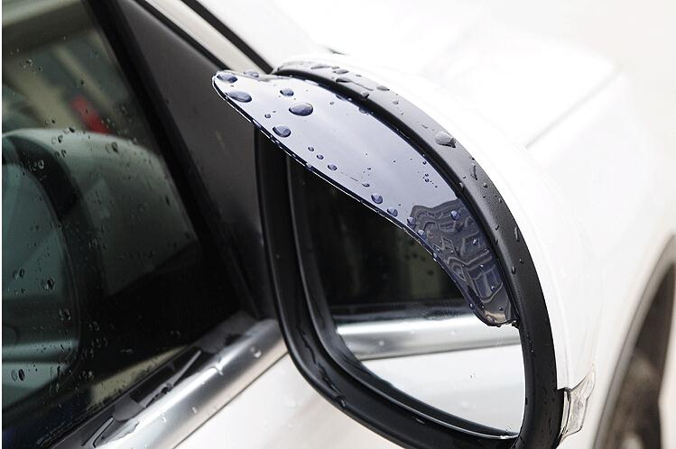 Universal Car Rearview Mirror Rain Shade Shield for Audi A4 B6 A7 B8 A5 A3(China (Mainland))